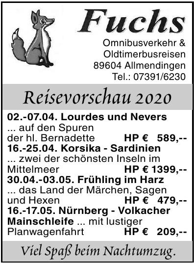 Fuchs Omnibusverkehr & Oldtimerbusreisen