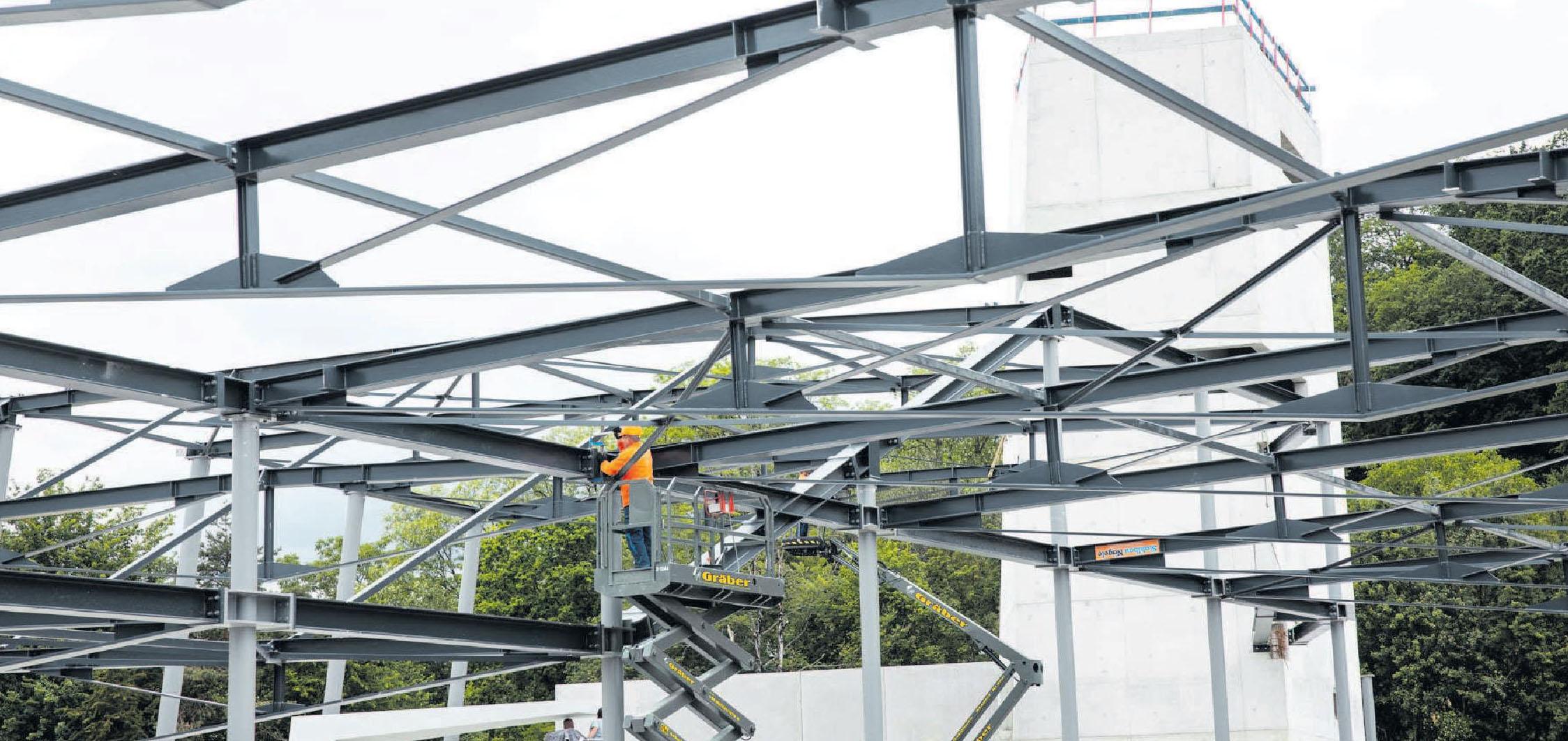 Stahlbau in höchster Präzision