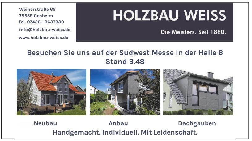 Holzbau Weiss