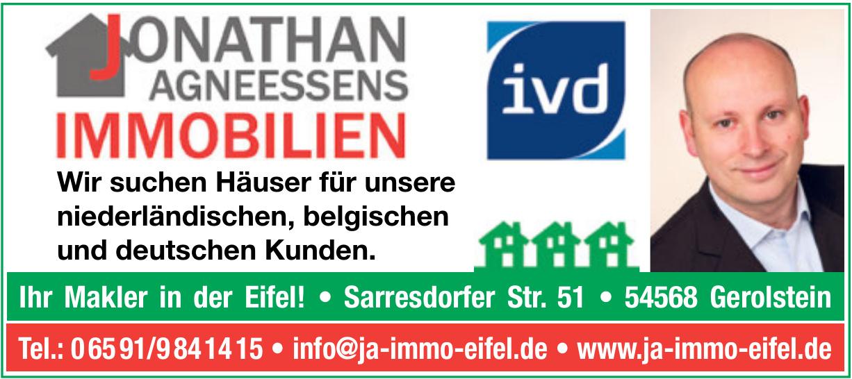 Jonathan Agneessens Immobilien