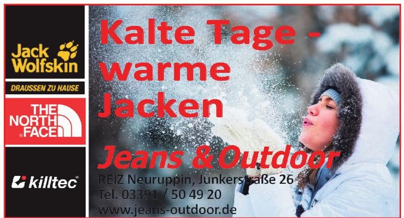 Jeans und Outdoor
