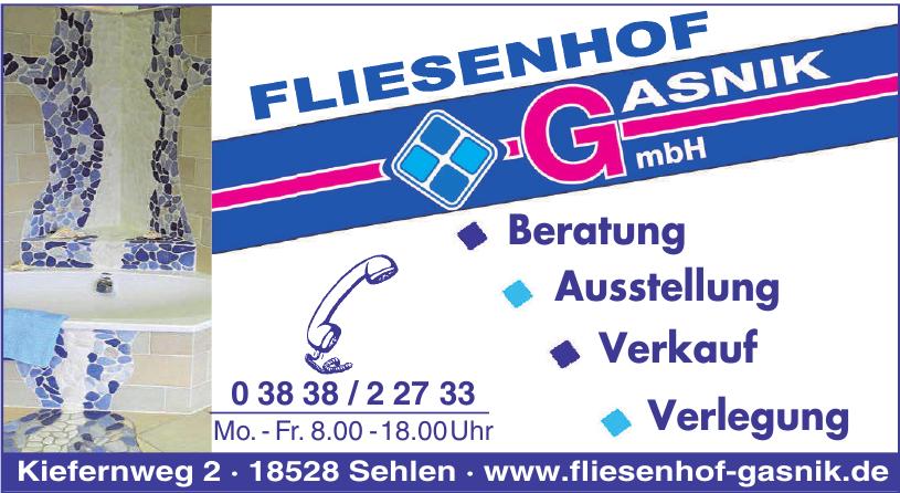 Fliesenhof Gasnik GmbH