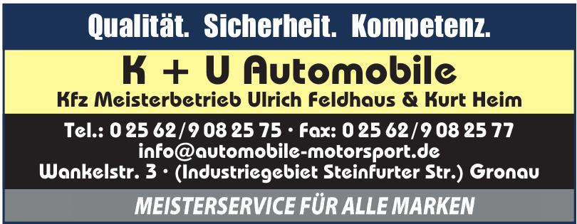 K + U Automobile