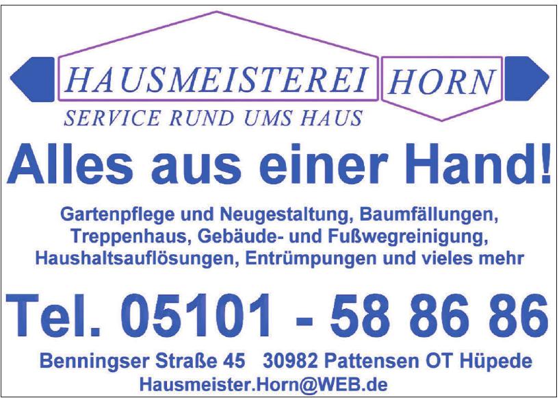 Hausmeisterei Horn