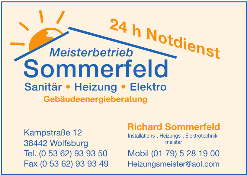 Meisterbetrieb Sommerfeld