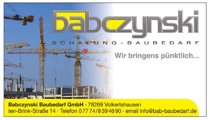 Babczynski Baubedarf GmbH