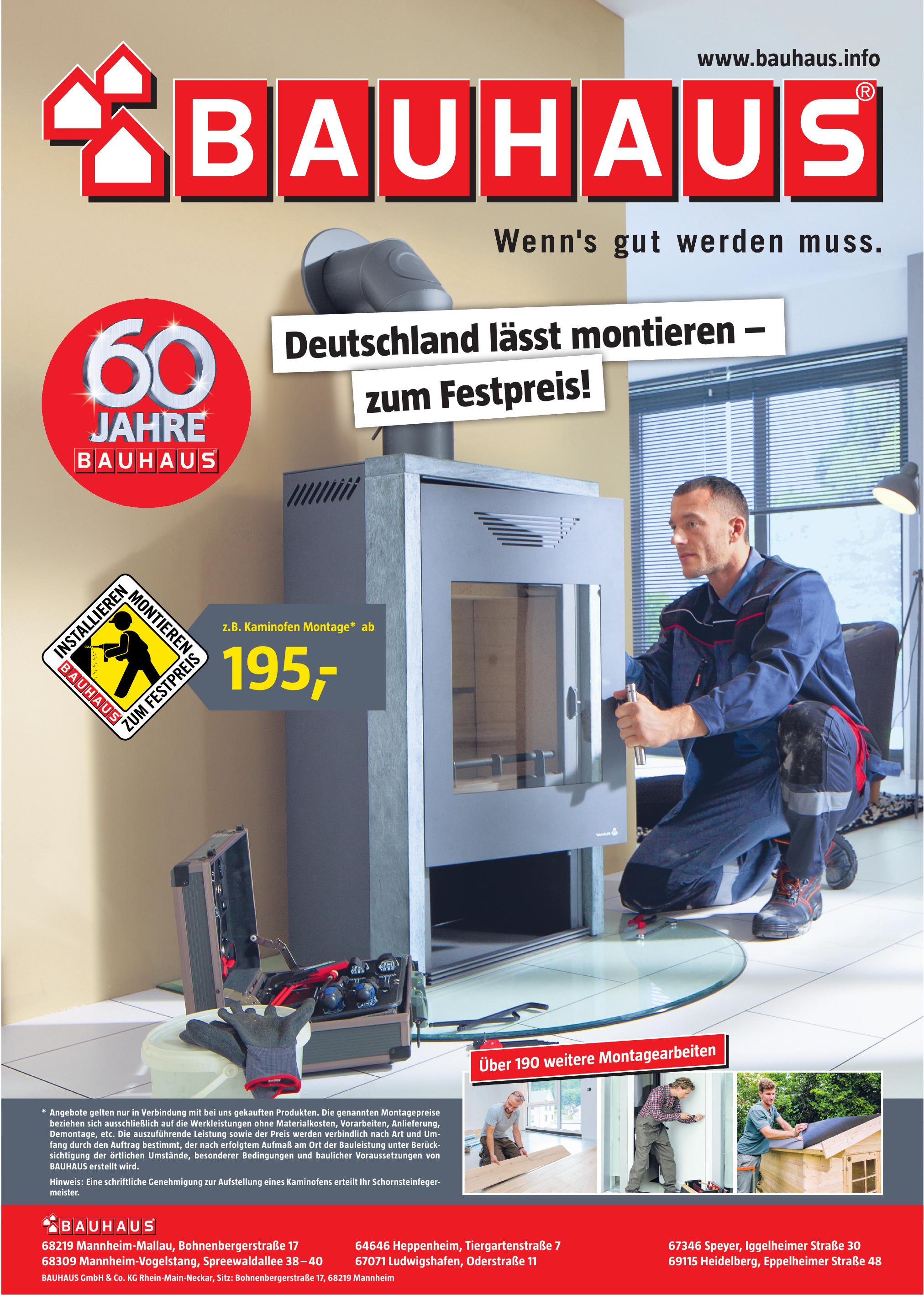 Bauhaus GmbH & Co. KG - Rhein-Main-Neckar Gesellschaft für Bau- und Hausbedarf