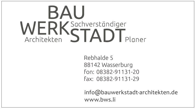 Bau Werk Stadt