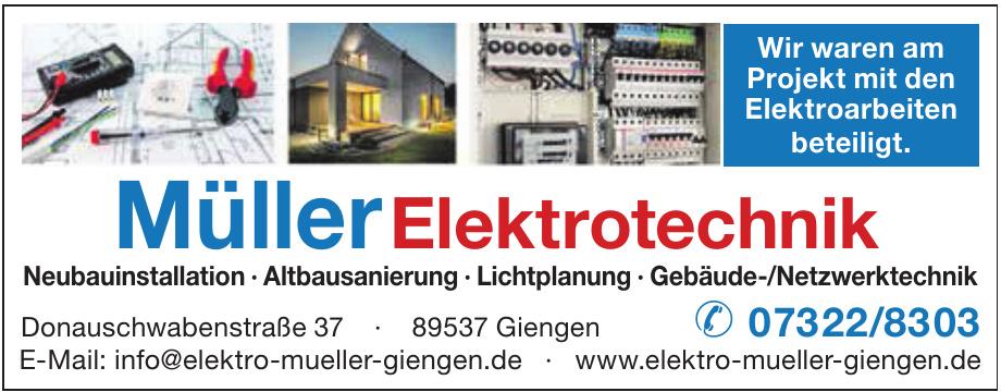 Müller Elektrotechnik