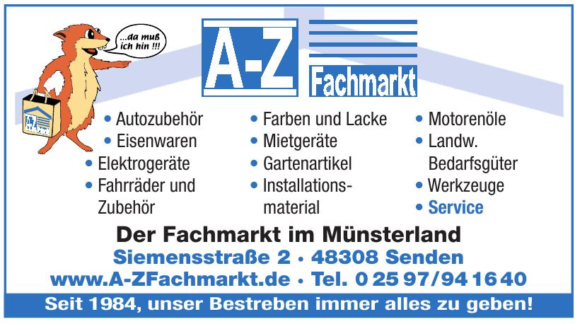 A-Z Fachmarkt