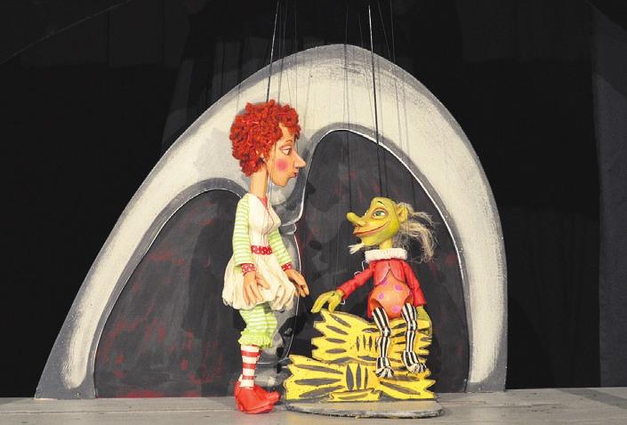 """Rumpel und Polly aus """"Rumpelstilzchen"""".           Foto: WFC"""