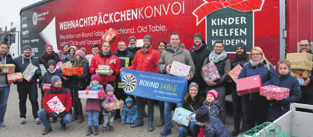 Der Wolfsburger Weihnachtspäckchentruck startete kürzlich in die Ukraine.