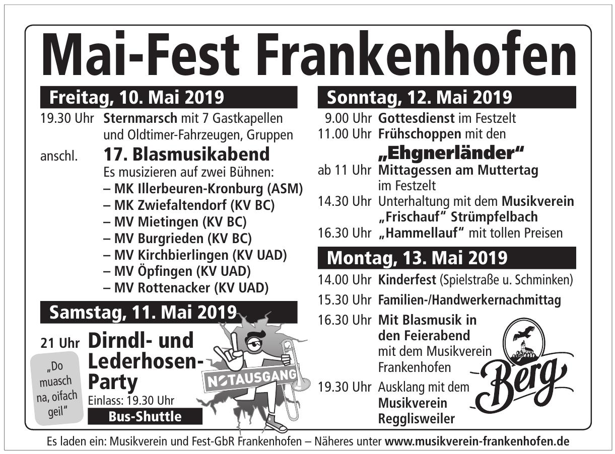 Musikverein Frankenhofen e.V.