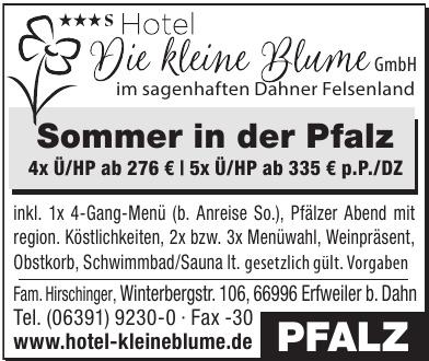 Hotel Die kleine Blume GmbH
