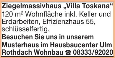 Rothdach Wohnbau