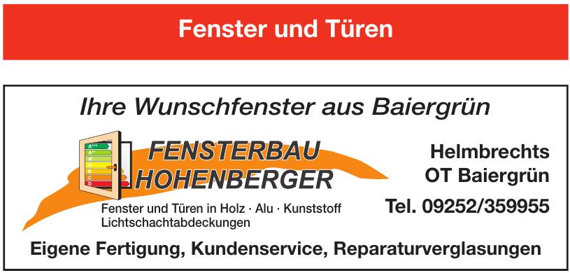 Fenster Hohenberger Helmbrechts