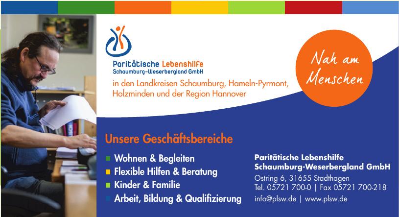 Paritätische Lebenshilfe Schaumburg-Weserbergland GmbH