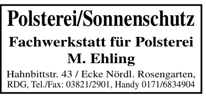 M. Ehling