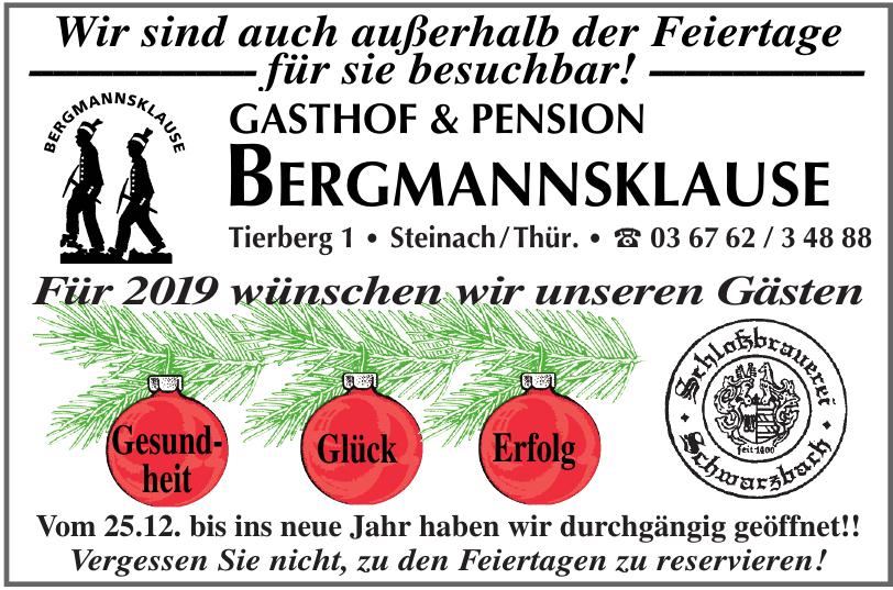 Gasthof & Pension Bergmannsklause