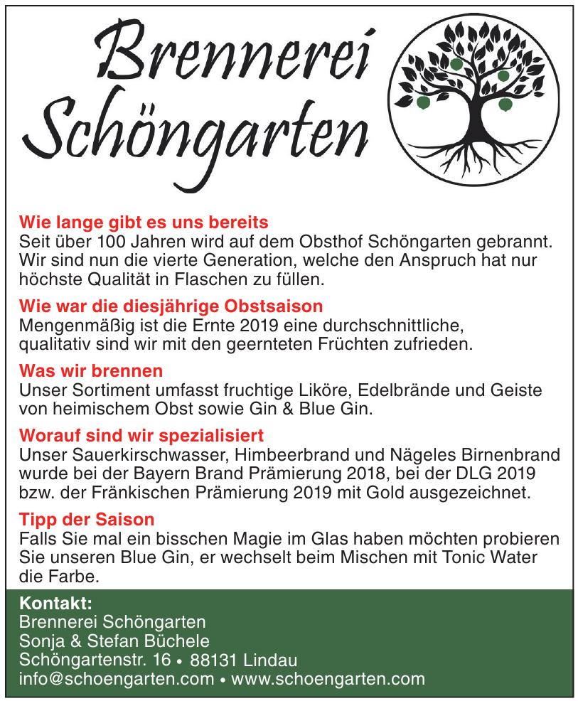 Brennerei Schöngarten