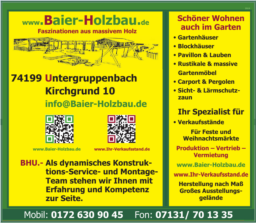 Baier-Holzbau