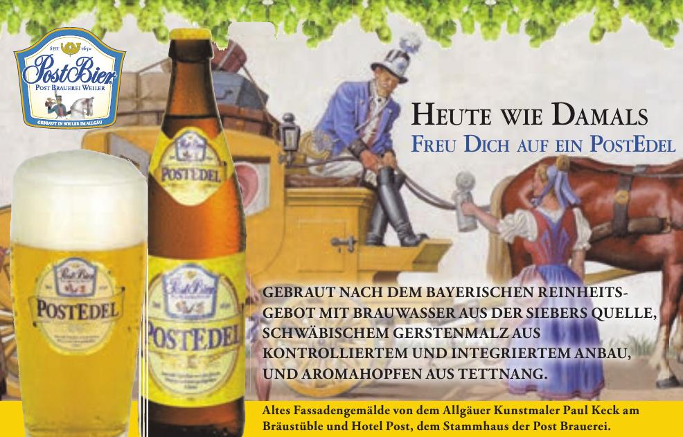 Post Brauerei - PostEdel