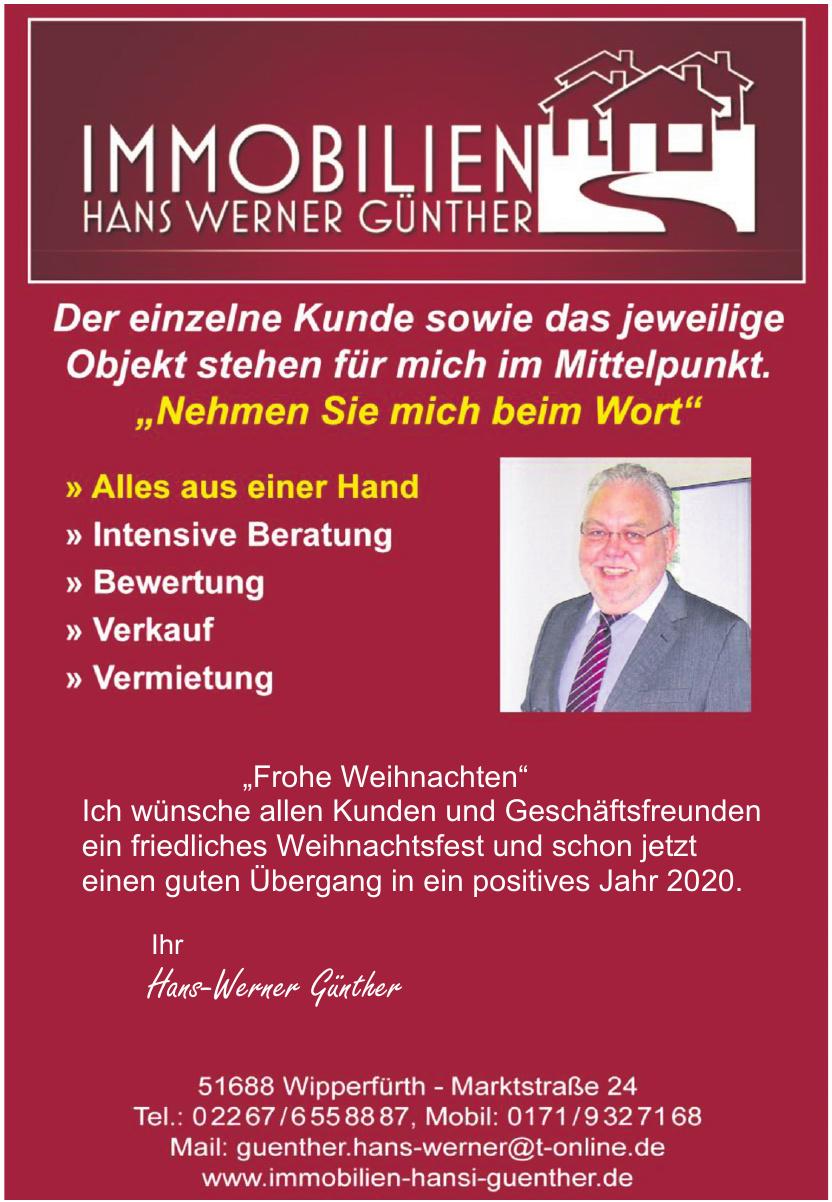 Immobilien Hans Werner Günther