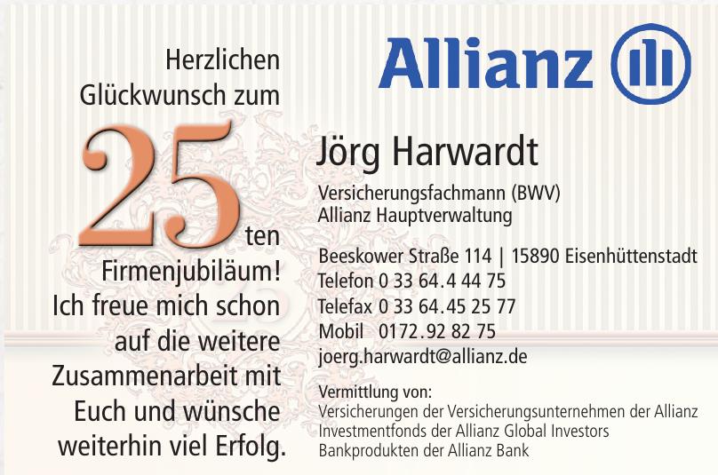 Allianz Jörg Harwardt