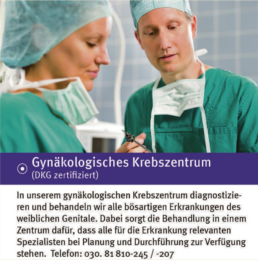 Gynäkologisches Krebszentrum