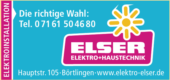 Elser Elektro+Haustechnik