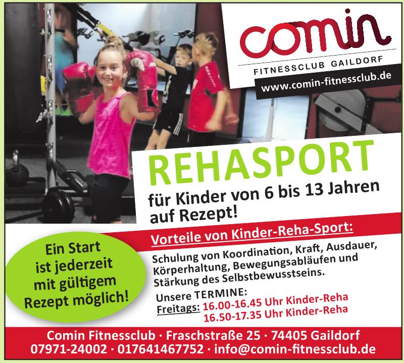 Comin Fitnessclub Gaildorf