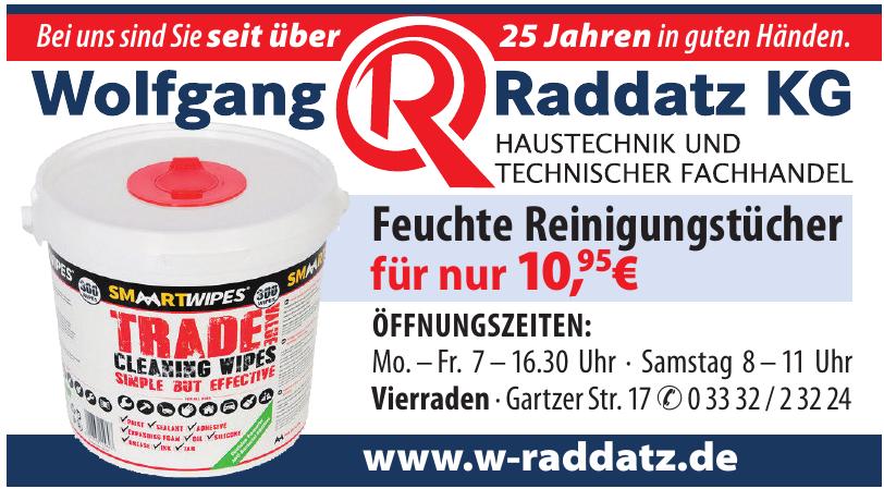 Wolfgang Raddatz KG