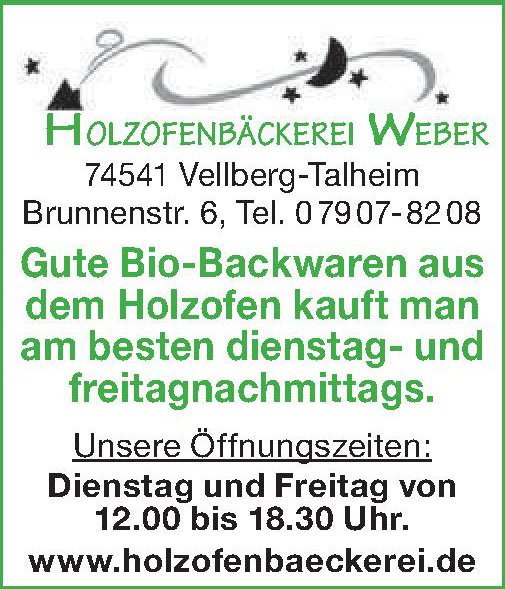 Holzofenbäckerei Weber