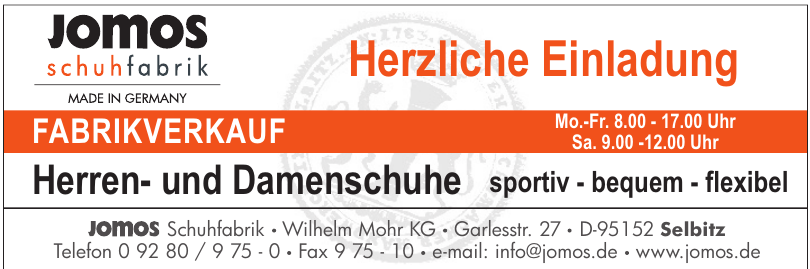 Jomos  Schuhfabrik Wilhelm Mohr KG