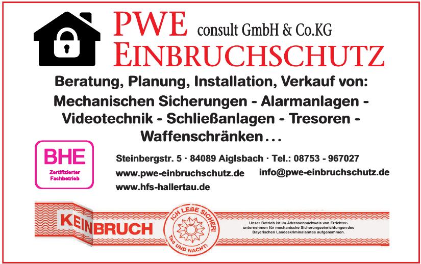 PWE Einbruchschutz consult GmbH & Co. KG
