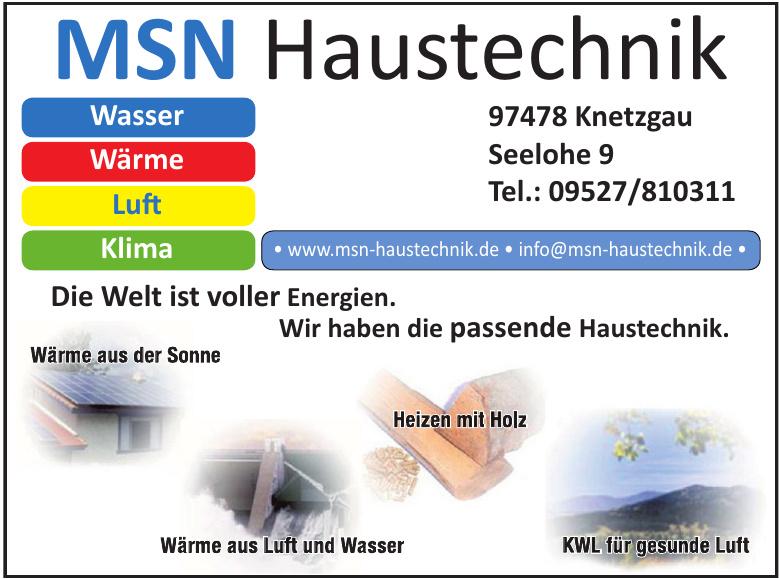 MSN Haustechnik GmbH