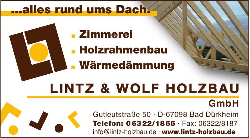Lintz & Wolf Holzbau GmbH