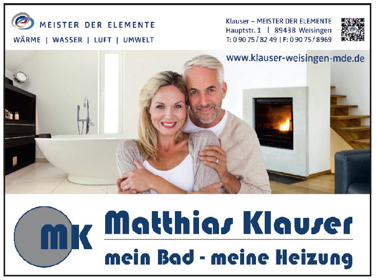 Matthias Klauser - Meister der Elemente