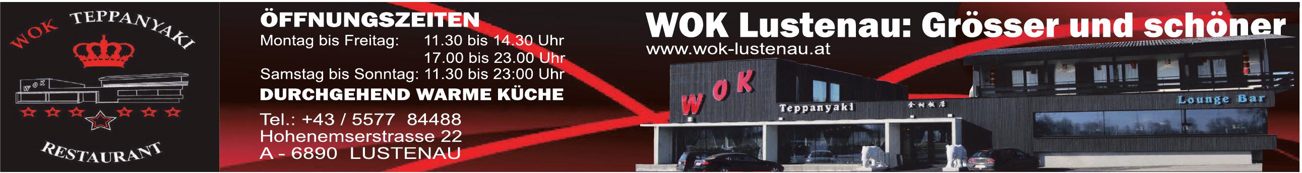 WOK Lustenau: Grösser - Wok Teppanyaki Restaurant