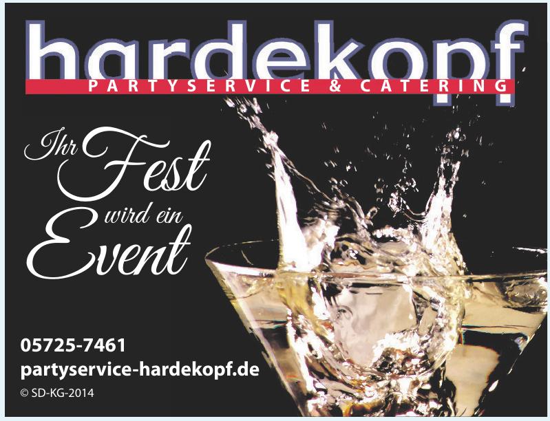 Hardekopf Partyservice & Catering