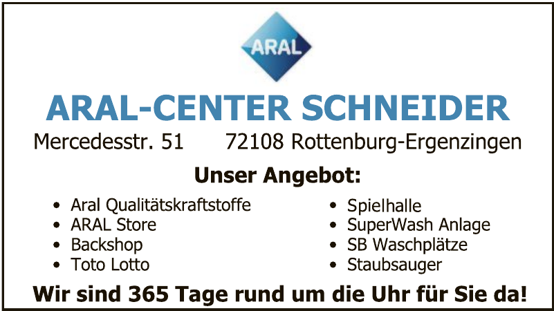Aral-Center Schneider