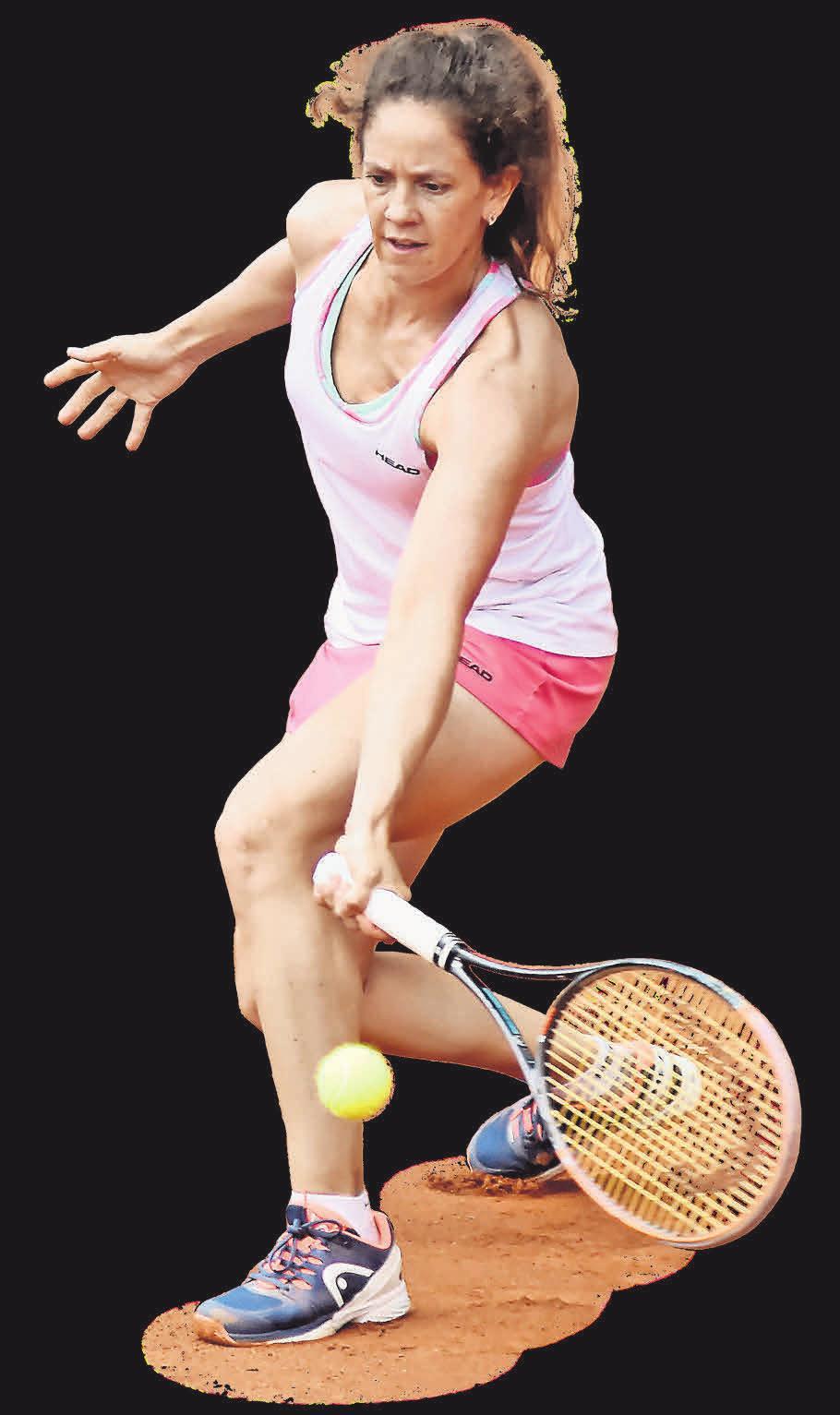 Patty Schnyder, ehemalige Nummer sieben der Welt. Florian Petrow