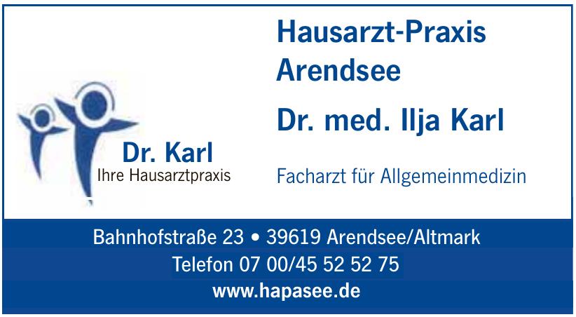 Hausarzt-Praxis Arendsee Dr. med. Ilja Karl
