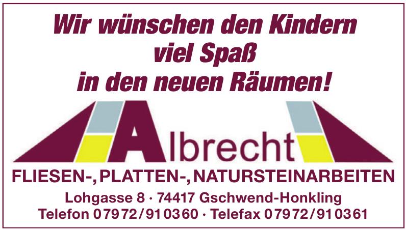 Albrecht Fliesen-, Platten-, Natursteinarbeiten