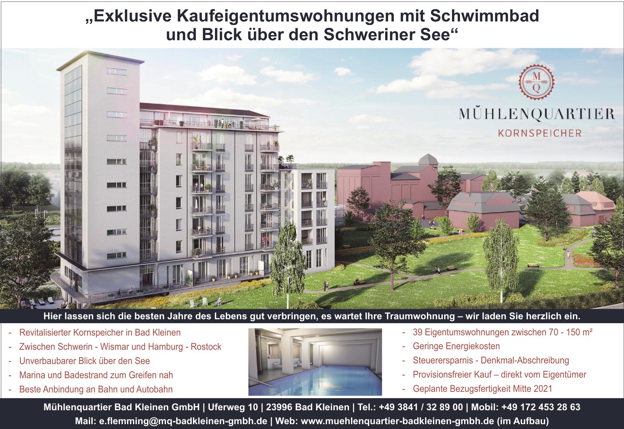 Mühlenquartier Bad Kleinen GmbH