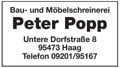 Bau- und Möbelschreinerei Peter Popp