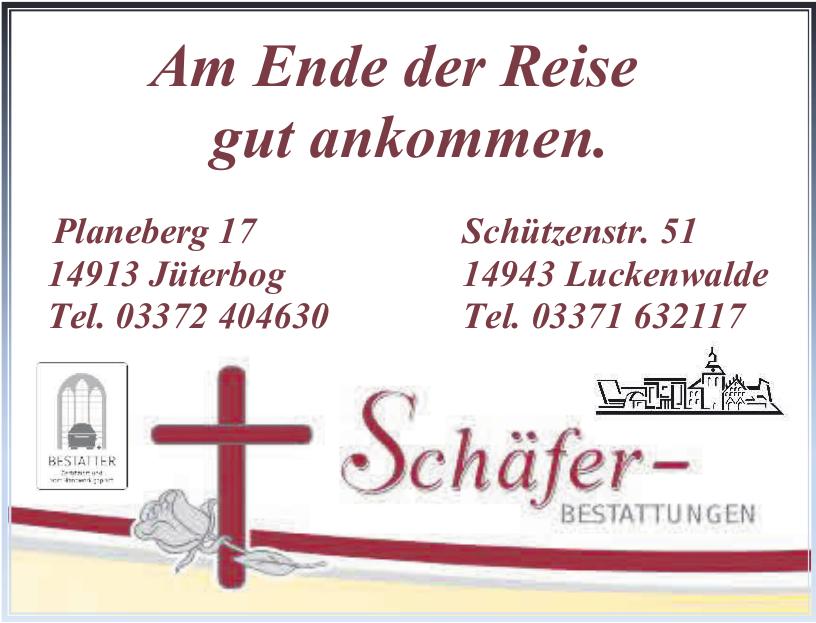 Schäfer-Bestattungen