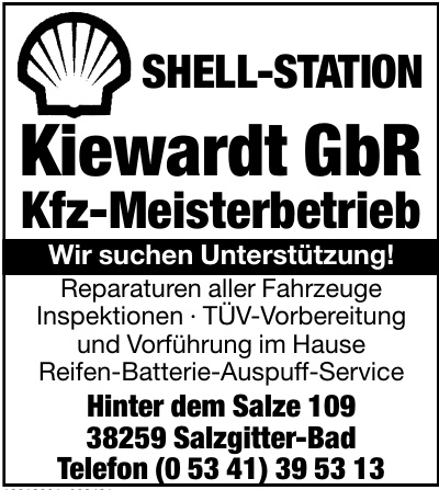 Kiewardt GbR Kfz-Meisterbetrieb