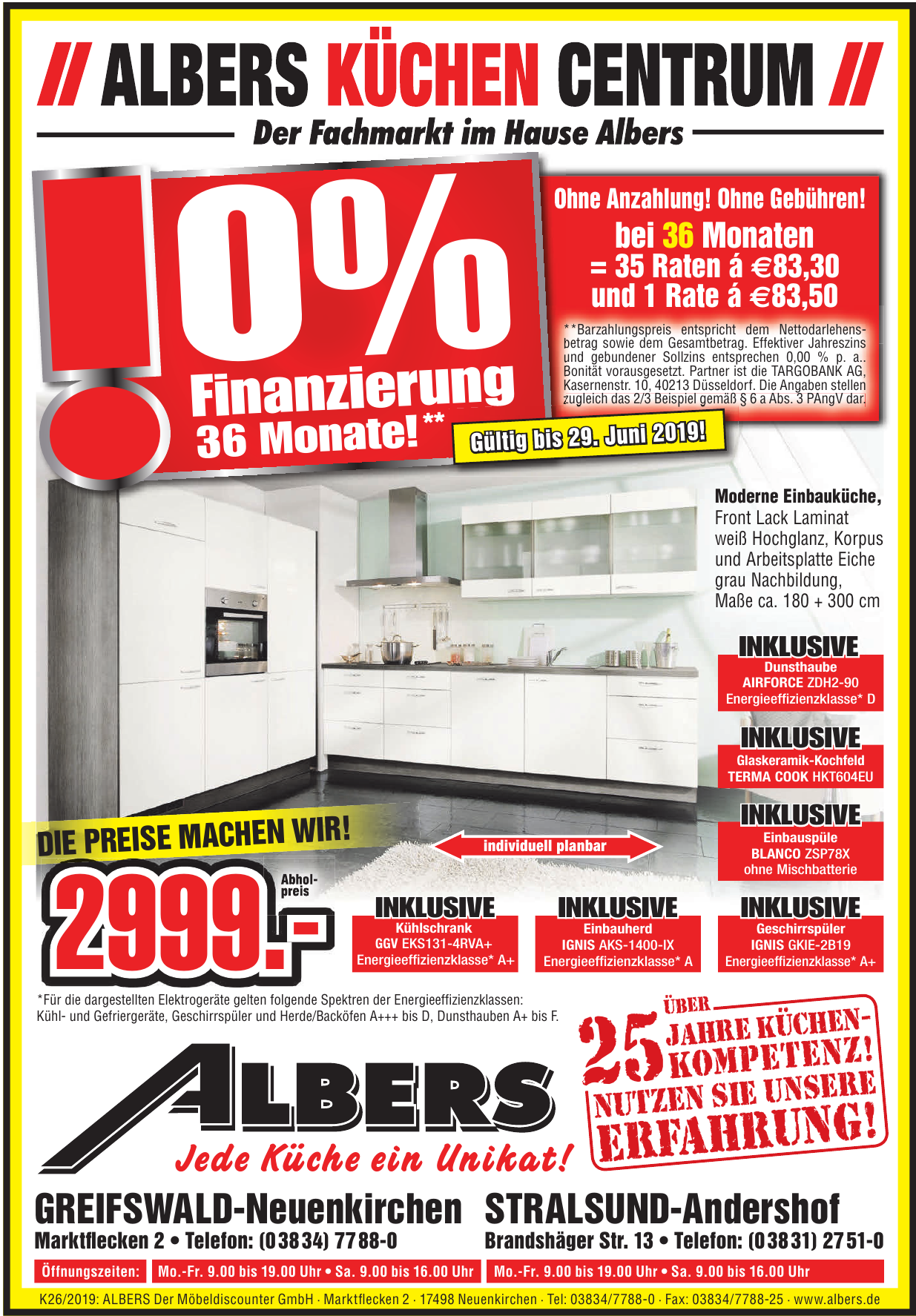 Albers Der Möbeldiscounter GmbH