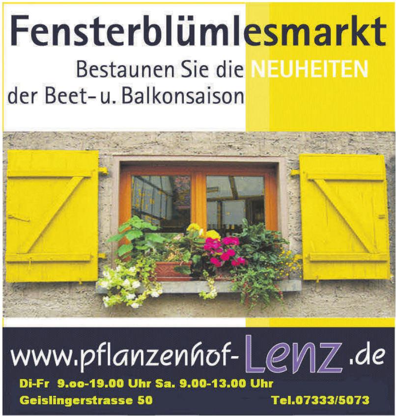 Lenz Pflanzenhof